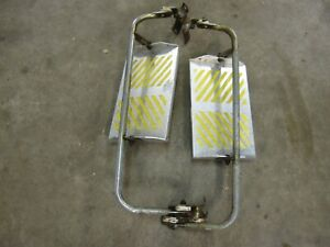 Vintage West Coast Truck Mirrors Ford Chevy Dodge Semi Rat Rod Towing Mirrors