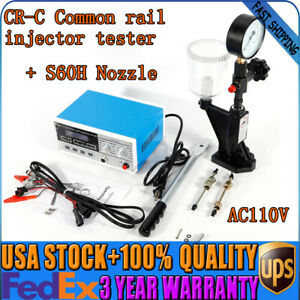 Full Set Multi function Cr c Diesel Common Rail Injector Tester s60h Fuel Nozzle