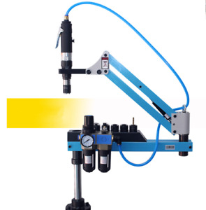 Universal Flexible Arm Pneumatic Air Tapping Machine 360 Angle 1000mm M3 m12 Y