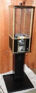 Beaver Vending Gumball Machine 16 Single Northern With Stand