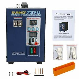 737u Battery Spot Welder With Pulse Current Display 2800w Testing Charge