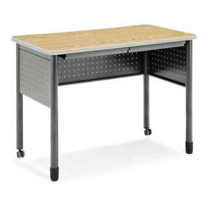 Ofm Mesa Series Model 66121 Standing Height Training Table And Desk With