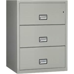 Lateral 31 Inch 3 drawer Fireproof File Cabinet