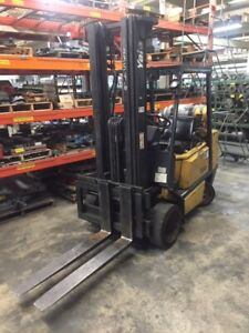 Yale 6000 Lbs Capacity Forklift Lp Side Shift 3 Stage