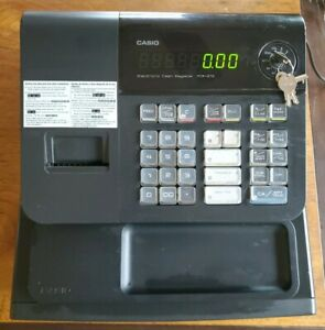 Casio Electronic Cash Register Pcr 272 With Key Great For Small Businesses