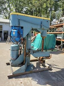 Schold 60 Hp Disperser Mixer C Axial High Speed Unit W Swept 40 In Bowtie