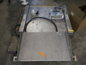 Used Cambridge Scale Works Ss680 Floor Scale Platform