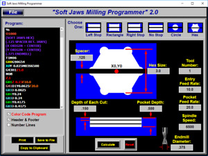Soft Jaws Milling Dimensions Programming Software For Kurt Cnc Mill Vises