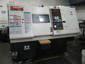 2005 Mazak Super Quick Turn 100msy Cnc Lathe W Y axis C axis Live Tooling