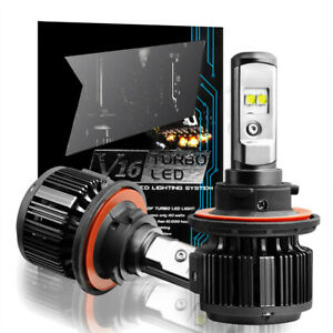 H13 Cree Led Headlight Bulb For Ford Focus 2008 2011 Flex 09 2018 Mustang 08 12