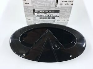 New Oem Infiniti Q50 Front Grille Emblem Base Only Emblem Not Included