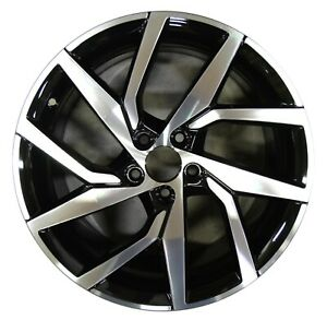 18 Volvo V60 S60 2019 Factory Oem Rim Wheel 70469 Black Machined