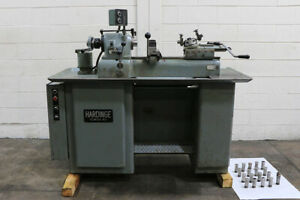 9 Swg Hardinge Dsm 59 Second Op Lathe Vari speed 5c collet cross Slide