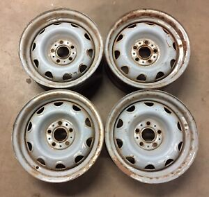 Mopar Rally Wheels Small Bolt Pattern 5on4 A body Dart Duster Valiant J15800