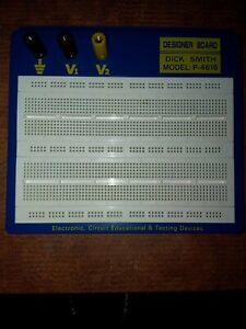 Dick Smith P 4616 Test Point Electronic Design Solderless Circuit Bread Board