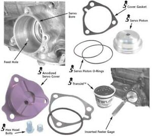 Sonnax Powerglide Billet Servo Piston And Cover Kit O Ring 28821 07k