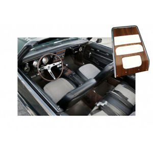 Camaro Dash Panel Center Deluxe Woodgrain For Cars Without Air Conditioning