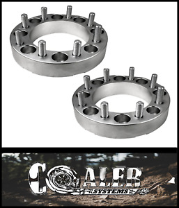 2pc 2 Inch Skid Steer Wheel Spacers 8x8 9 16 Studs lug Nuts For Cat 2 New