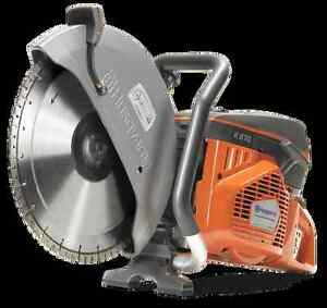 Husqvarna K970 16 Powercutter Concrete Cutoff Saw Blade Not Included