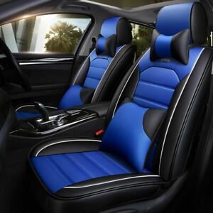 Luxurious Seat Covers For Toyota Bmw Ford Honda Jeep Mazda Audi 11pc Full Set
