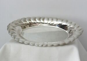 Wm Rogers Silver Plated Bread Tray
