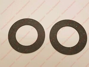 2 Pto Clutch Friction Discs 6 28 Od X 4 00 Id X 127 Thick For Mower Rotary