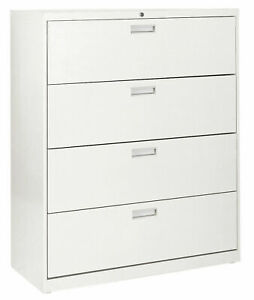 Sandusky Cabinets 600 Series 4 drawer Lateral Filing Cabinet
