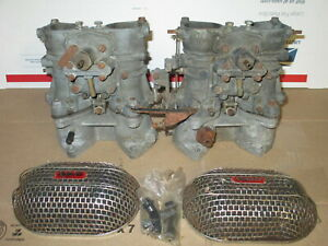 Solex Phh Dual Side Draft Bmw 2002 2000 1600 Carburetors Intake Manifolds