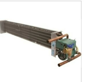 Hot Water Coil Horizontal 9 320 6034 2row 6h 42l With Pump New