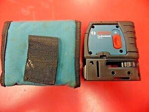 Bosch Gpl3 3 Point Self Leveling Alignment Laser Level Excellent Pre owned