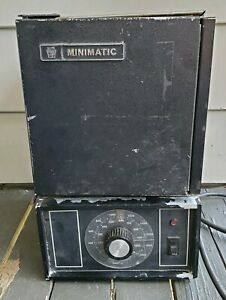 Ney Minimatic Used Dental Lab Burnout Oven