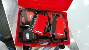 Hilti Hammer Drill Kit Te 4 a 6 a Drs Sds Kit With Vacuum Free Shipping New