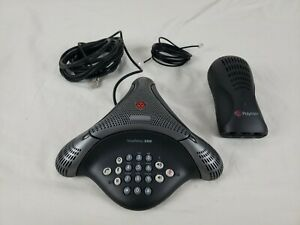 Polycom Voicestation 300 Conference Speakerphone System 300 500 Wall Module