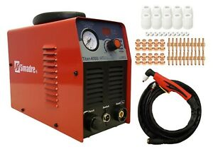 Plasma Cutter 13mm Cut Simadre Titan 4000i Igbt 40a Dc 220v 60 Cons Power Torch