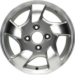 Wheel For 1998 2000 Honda Accord 15 Inch Alloy Rim 4 114 3mm Silver Painted