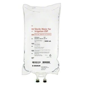 B Braun Sterile Water For Irrigation 3000 Ml Bag