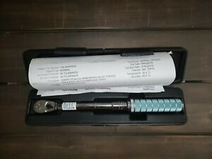 Armstrong 64 032 1 4 Micrometer Torque Wrench W Calibration Cert And Manual