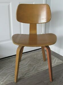 Vintage Retro Thonet Bentwood Chair Mid Century Modern Pick Up Only