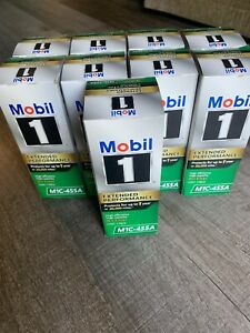 Lot Of 9 New Mobil 1 Extended Performance Oil Filter M1c 455a Free Shipping