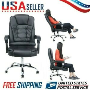 Office Gaming Chair Racing High Back Recliner Swivel Executive Computer Seat