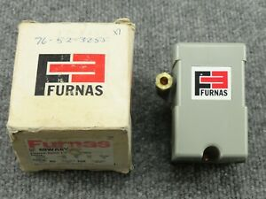 Nos Unused Furnas 69wa6y Pressure Switch Cut in 80 Psi Cut out 100 Psi