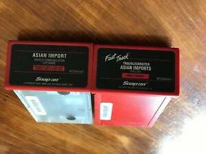 Snap On Mt25001401 Mt25002401 Asian Primary Troubleshooter Cartridges Mt2500