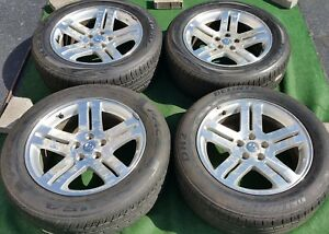 4 Genuine Oem Factory Dodge Magnum 18 Inch Wheels Tires Challenger Charger 300c