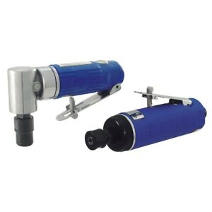 Astro Heavy Duty 1 4 Angle Head Die Grinder And Standard Duty 1 4 Grinder Set