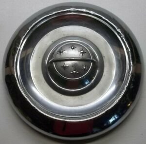 1955 Thru 1956 Oldsmobile Dog Dish Poverty Hubcaps 10 Inch 7 5 8 To Inner Bead