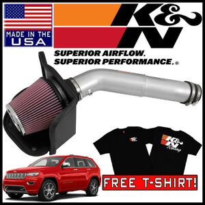 K n Fipk Cold Air Intake System Fits 2016 2019 Jeep Grand Cherokee 3 6l V6
