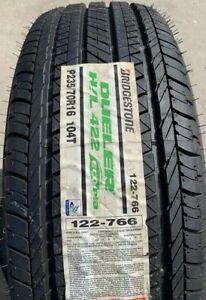 2 New 235 70 16 Bridgestone Dueler H L 422 P235 70r16 104t Tire 2