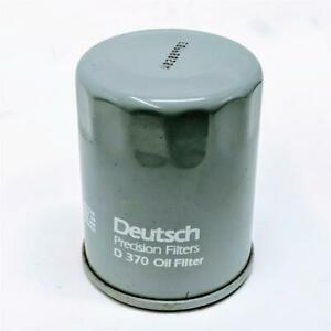 Deutsch Precision Filters D370 Oil Filter Vintage Nos Replaces Purolator Per4620