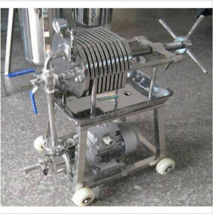 150stainless Steel Filter Press Filter Machine Laboratory Filtration Equipment Y