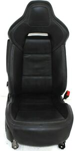 2014 2019 Chevy Corvette Front Passenger Right Side Leather Seat Black